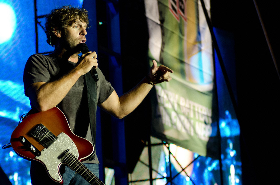 Billy Currington at Toadlick Music festival_