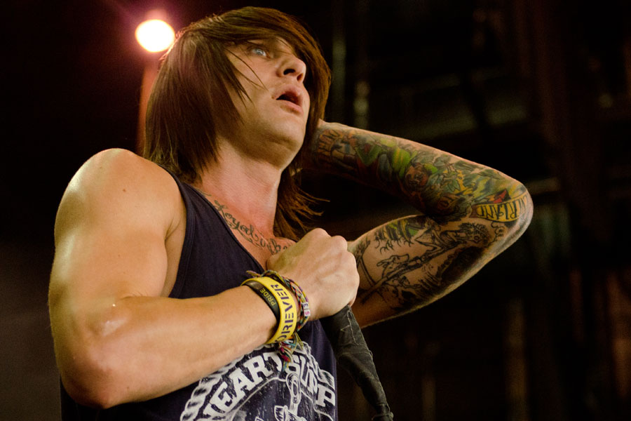 blessthefall at Vans Warped Tour