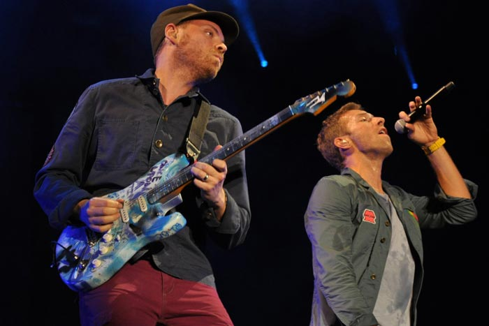 Coldplay at Music Midtown