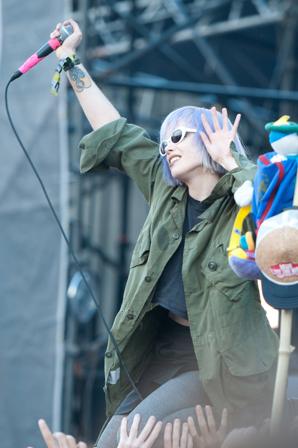 Crystal Castles at CounterPoint Festival