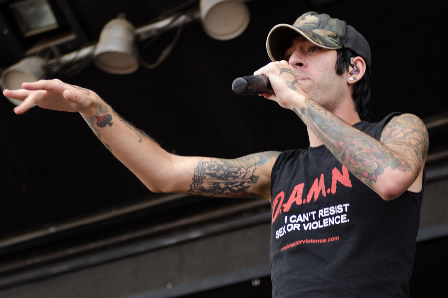 Deuce at Uproar Festival