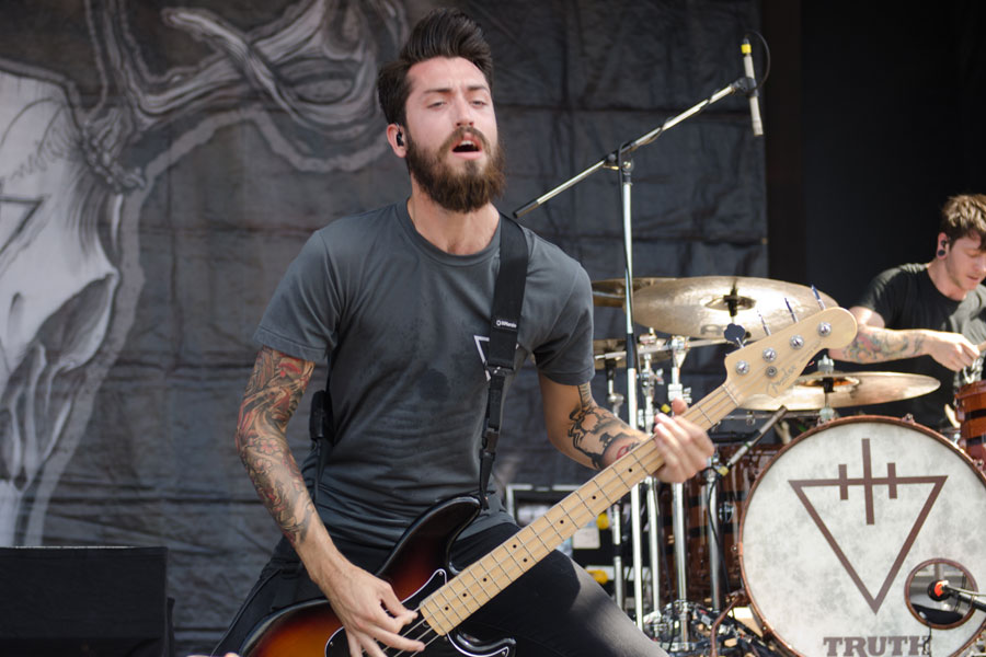 Devil Wears Prada at Mayhem Festival