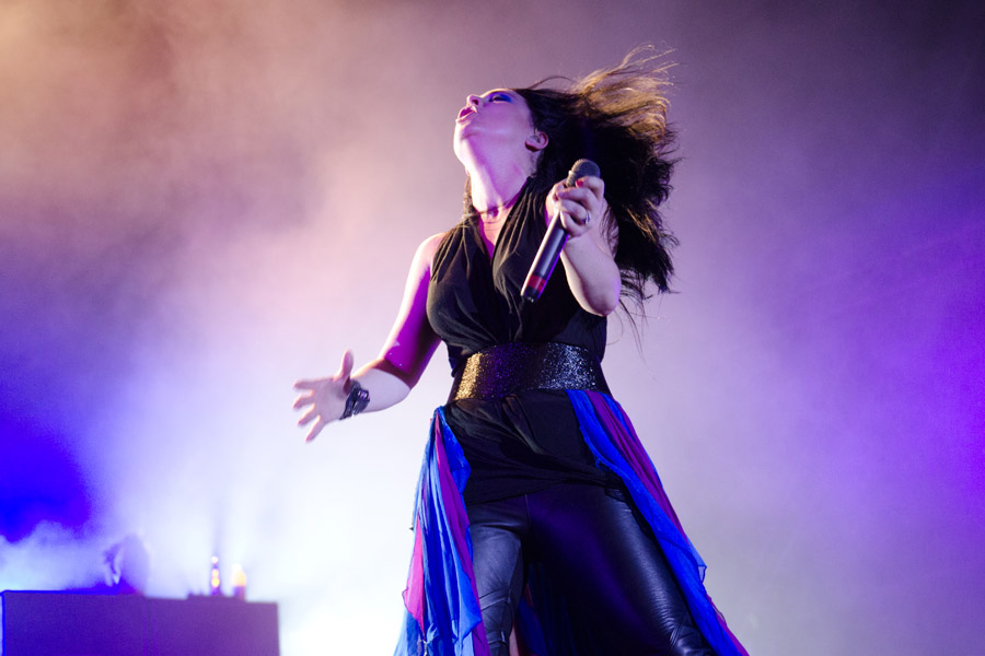Evanescence at Beale Street Music Festival