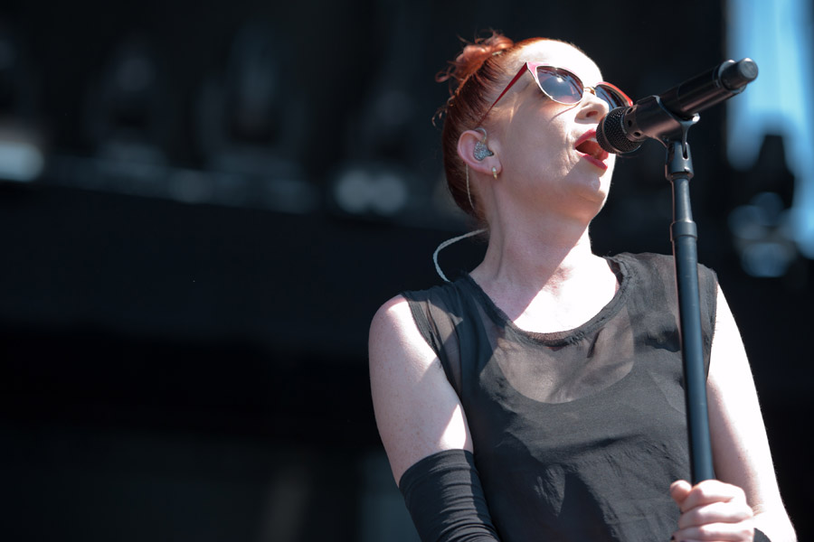 Garbage at Music Midtown