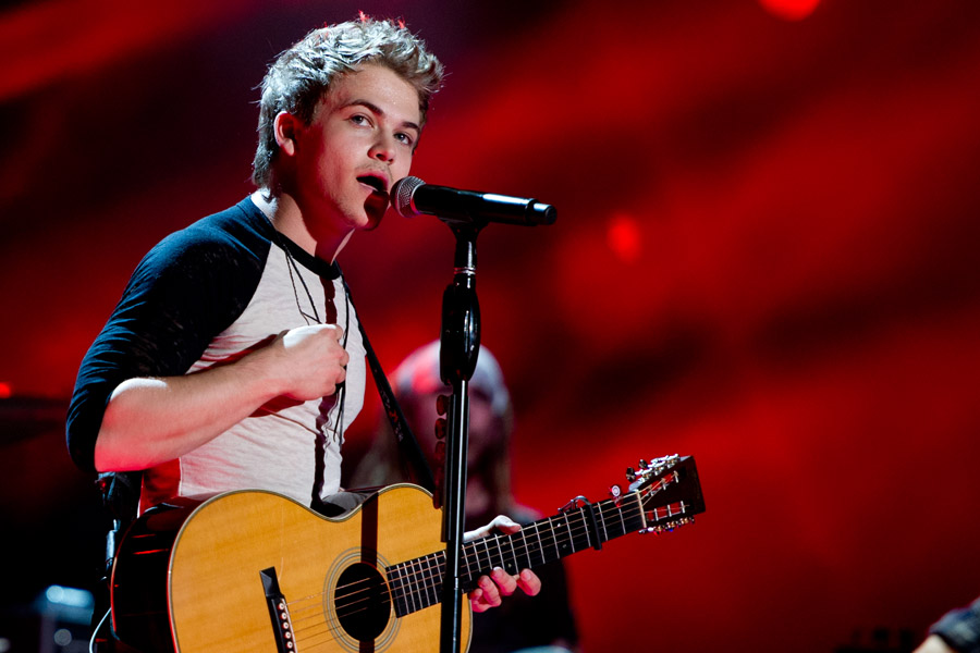 Hunter Hayes at CMA Festival