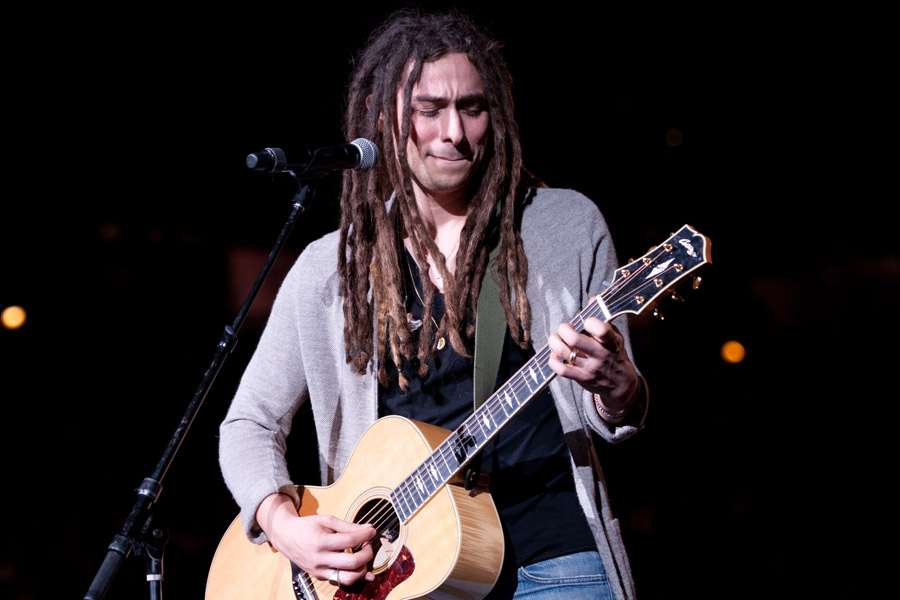 Jason Castro during Winter Jam at Philips Arena