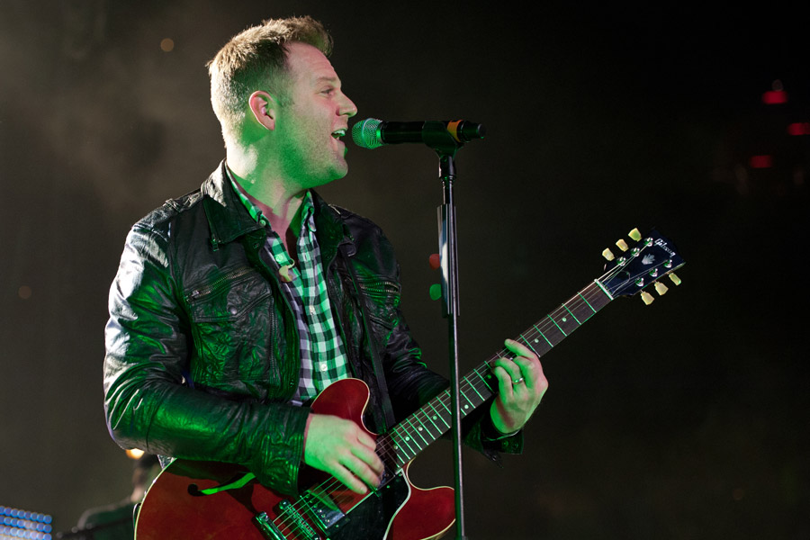 Matthew West during Winter Jam at Philips Arena
