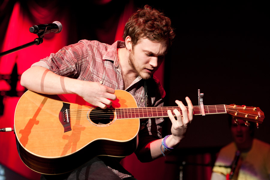 Phillip Phillips at Gwinnett Arena