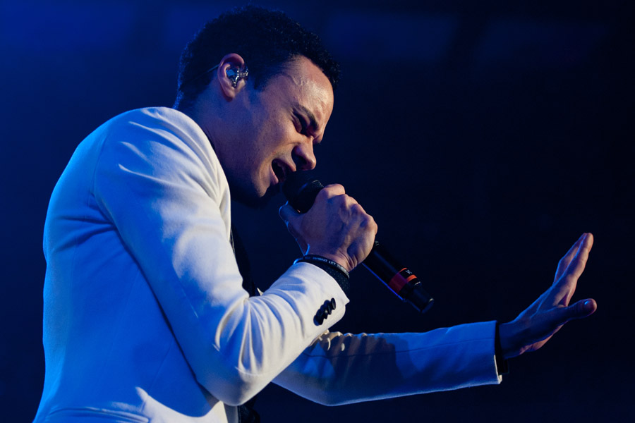 Royal Tailor during Winter Jam at Philips Arena