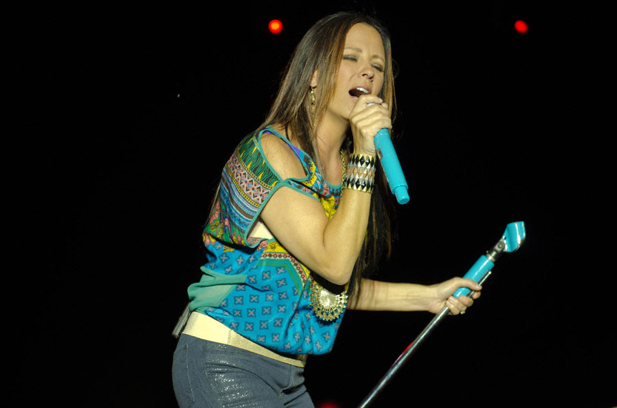 Sara Evans at Toadlick Music Festival