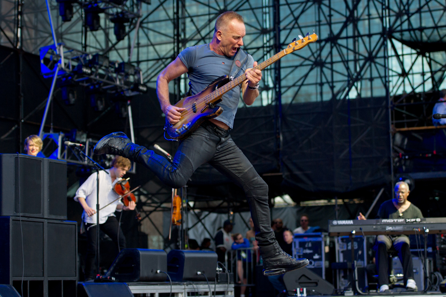 Sting at Capital One JamFest