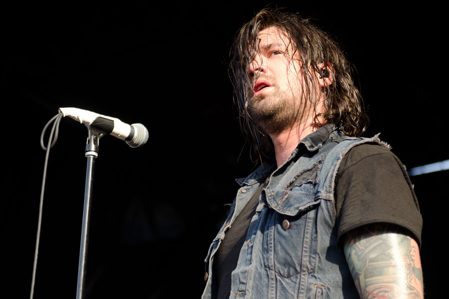 Taking Back Sunday at Vans Warped Tour