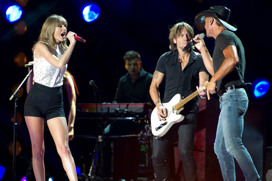 Taylor Swift at CMA Festival