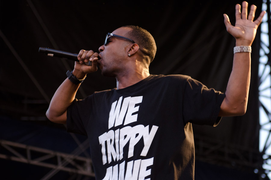 Three 6 Mafia at Beale Street Music Festival
