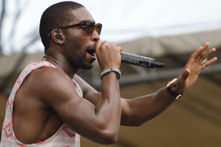 Tinie Tempah at Firefly Music Festival