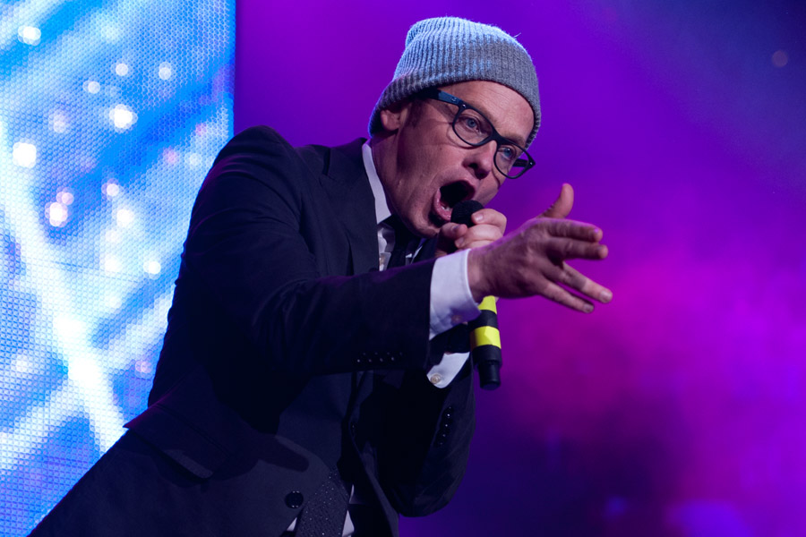 TobyMac during Winter Jam at Philips  Arena