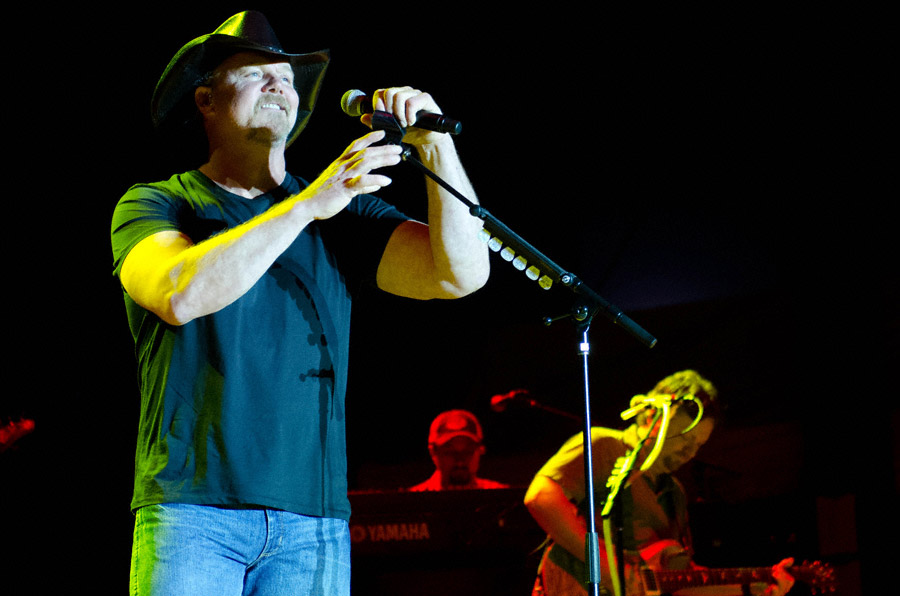 Trace Adkins at Toadlick Music Festival