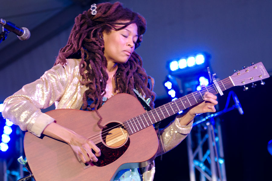 Valerie June at Beale Street Music Festival