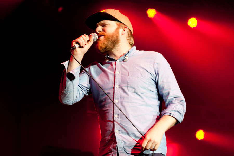 Alex Clare at Jingle Jam