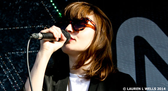 CHVRCHES at Northside Festival 2014