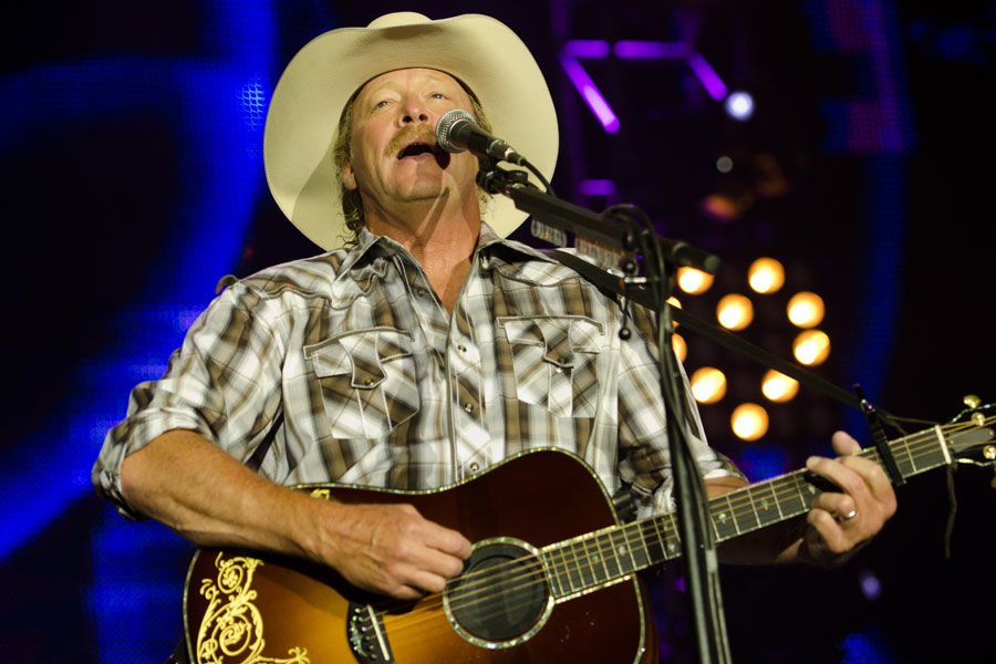 Alan Jackson at BamaJam