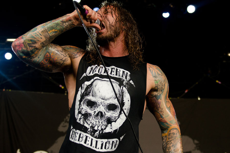 As I Lay Dying at Mayhem Festival