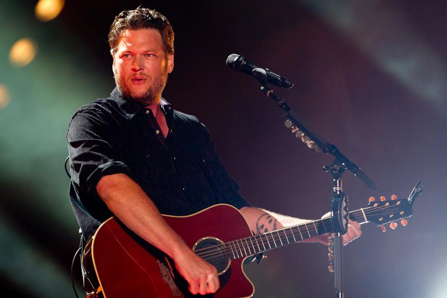 Blake Shelton at CMA Festival