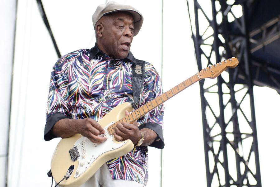 Buddy Guy at Beale Street Music Festival