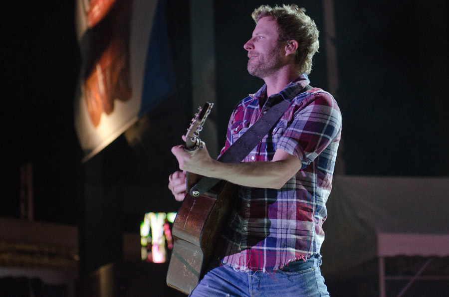 Dierks Bentley at Toadlick Music Festival