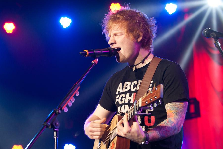 Ed Sheeran at Gwinnett Arena