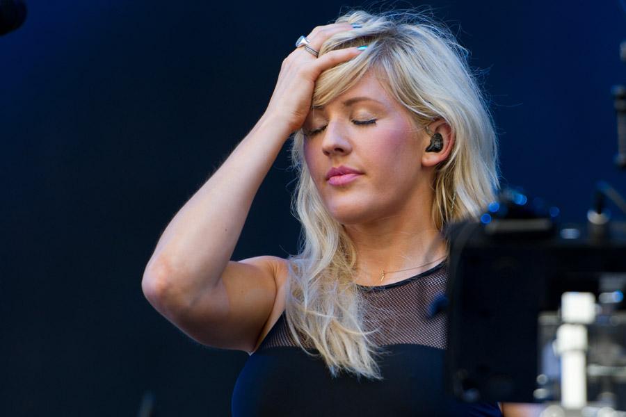 Ellie Goulding at Hangout Festival