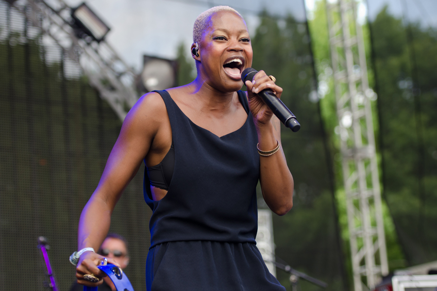 Fitz and the Tantrums at Firefly Music Festival