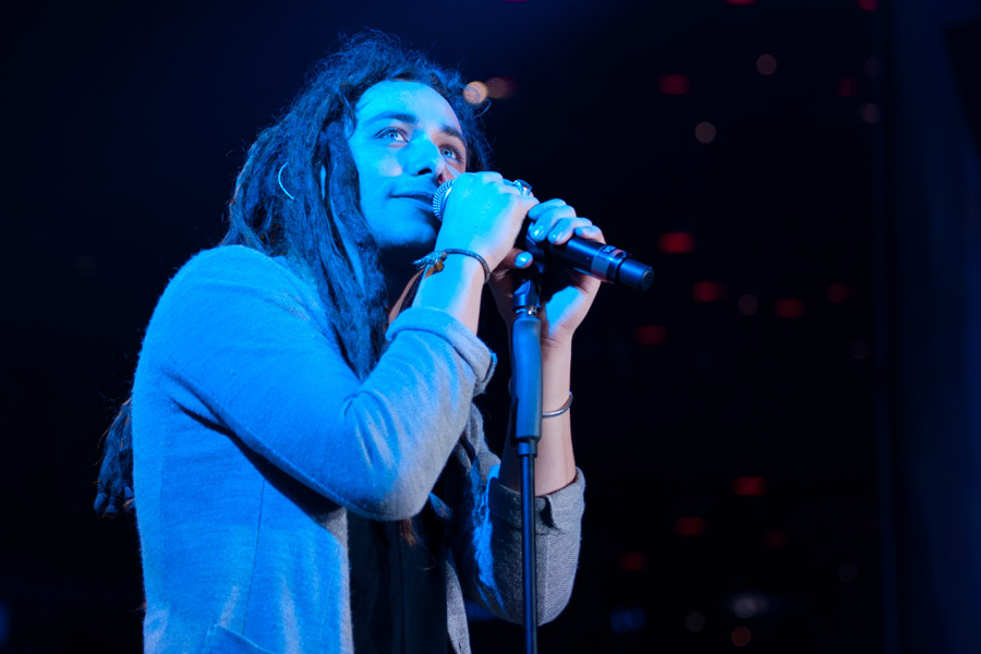 Jason Castro during Winter Jam at Philips Arena