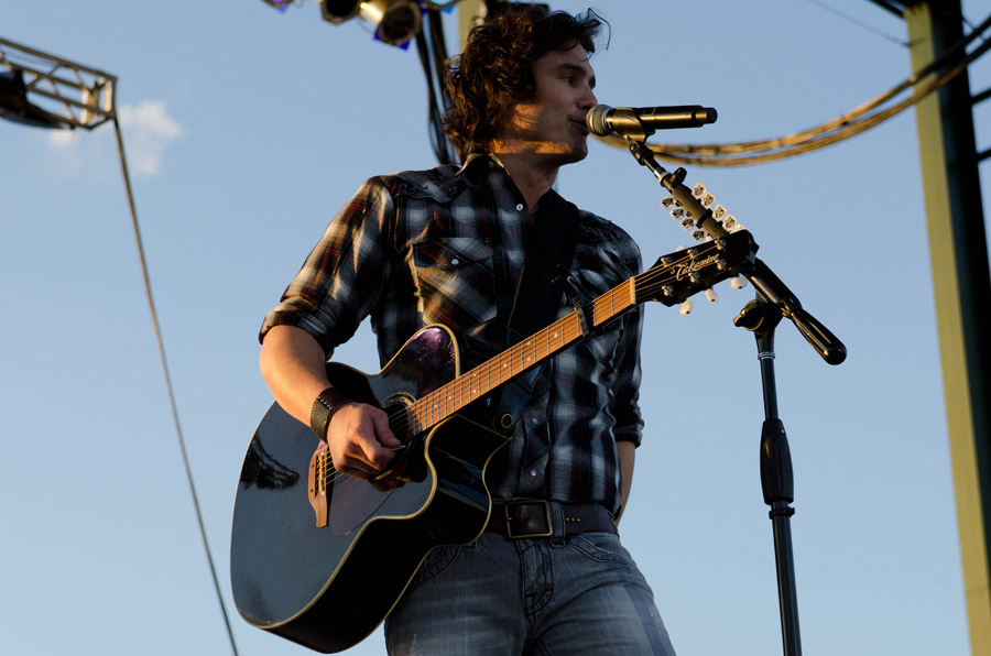 Joe Nichols at Toadlick Music Festival