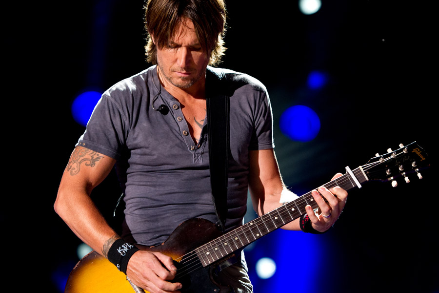 Keith Urban at CMA Festival