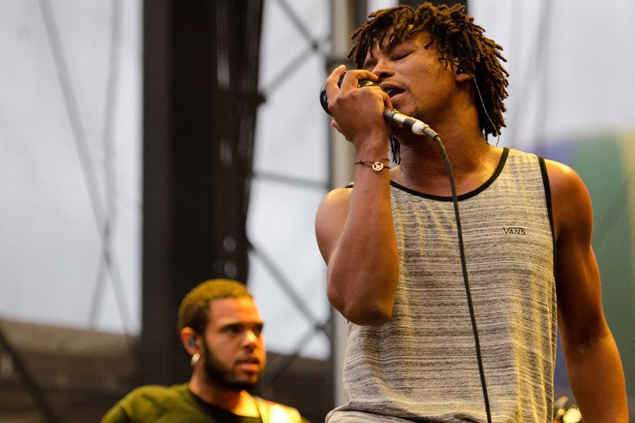 Lupe Fiasco at Firefly Music Festival