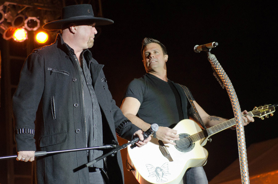 Montgomery Gentry at Toadlick Music Festival