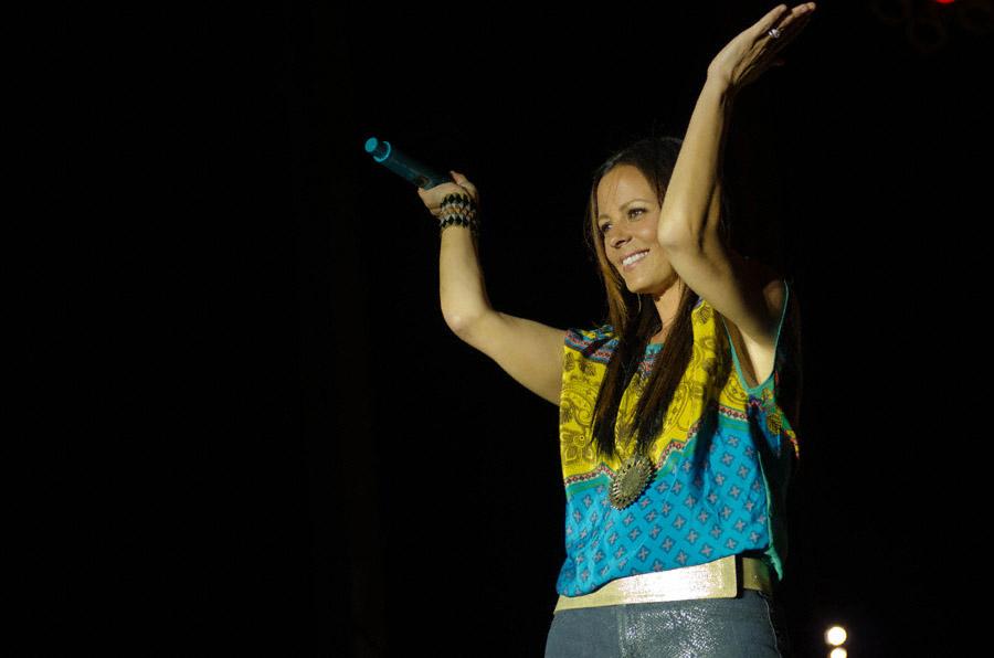 Sara Evans at Toadlick Music Festival