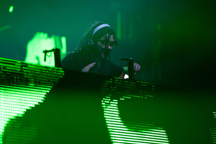 Skrillex at CounterPoint Festival