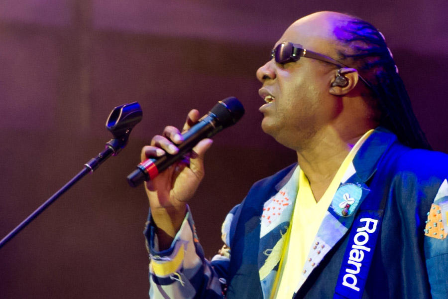 Stevie Wonder at Hangout Festival
