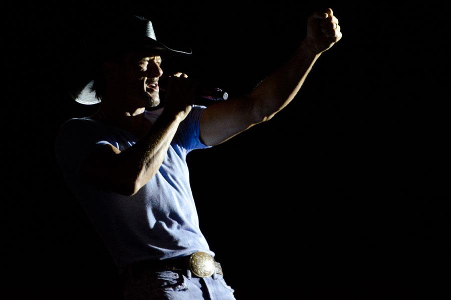 Tim McGraw at BamaJam Music Festival