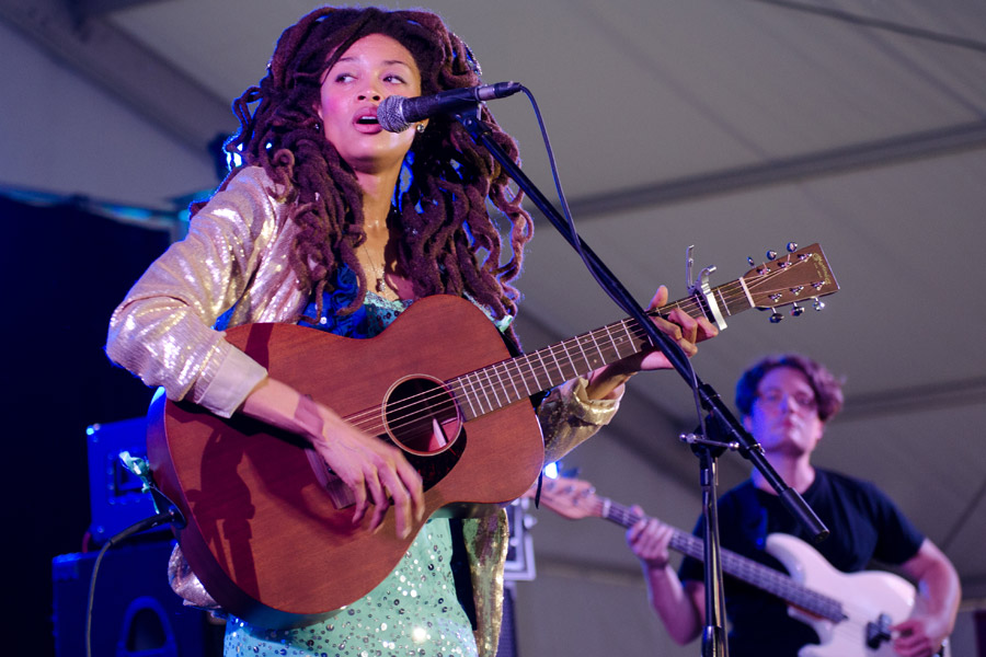 Valerie June at Beale Street Music Festival