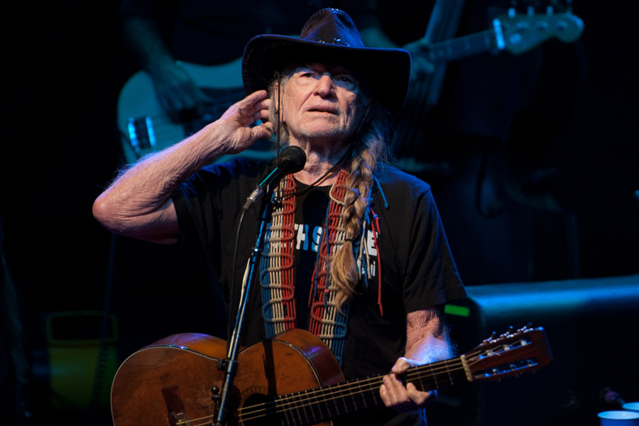 Willie Nelson at The Tabernacle