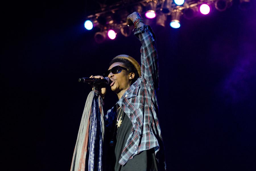 Wiz Khalifa at Beale Street Music Festival