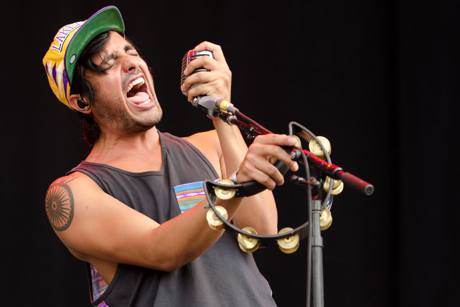 Young the Giant at Firefly Music Festival