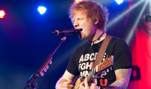 Ed Sheeran at Jingle Jam