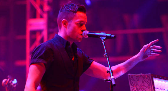 The Killers at Firefly Music Festival